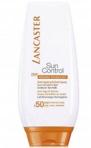 lancaster sun control - anti ageing & dark spot spf 50 - 125 ml. - Hudpleje
