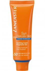lancaster soothing cream progressive tan spf 50 - 50 ml. - Hudpleje
