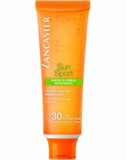 lancaster - sun sport invisible face gel spf 30 - 50 ml - Hudpleje