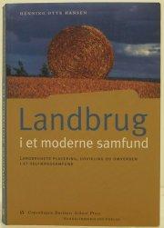 landbrug i et moderne samfund - bog
