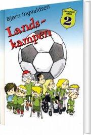fodboldholdet frøerne 2 - landskampen - bog