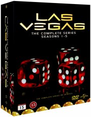 las vegas box - hele serien - sæson 1-5 - DVD