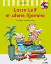 lasse-leif er alene hjemme - bog
