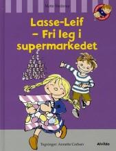 lasse-leif - fri leg i supermarkedet - bog