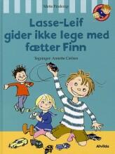 lasse-leif gider ikke lege med fætter finn - bog