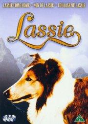 lassie box - lassie come home // son of lassie // courage of lassie - DVD