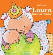 laura bliver storesøster - bog