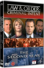 law and order - criminal intent - sæson 2 - DVD