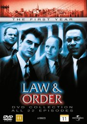 law and order - sæson 1 - DVD