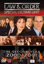 law & order: spec. victim unit - sæson 2 - DVD