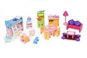le toy van dukkehusmøbler - deluxe sæt - dukkehus møbler - Dukker