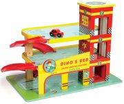le toy van garage - dinos garage - Køretøjer Og Fly