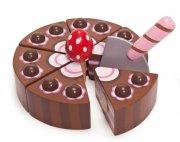 le toy van honeybake legemad - chokoladekage - Rolleleg