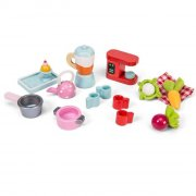 le toy van - køkkenudstyr til dukkehus - Dukker