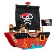 le toy van - piratskib i træ - Bade Og Strandlegetøj