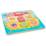 noahs ark - le toy van puslespil til børn - Brætspil