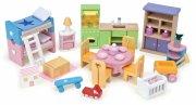 le toy van dukkehusmøbler - starter sæt møbler til dukkehus - Dukker