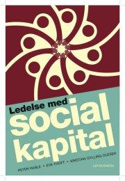 ledelse med social kapital - bog