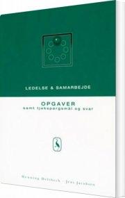 ledelse og samarbejde - bog