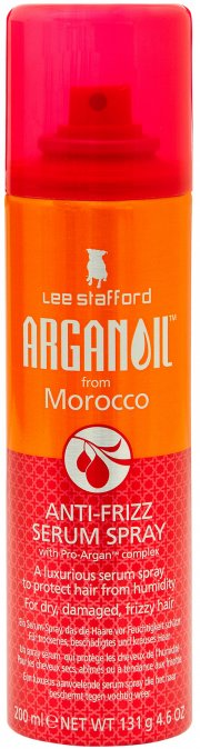 lee stafford - arganoil from morocco anti-frizz serum spray 200 ml. - Hårpleje