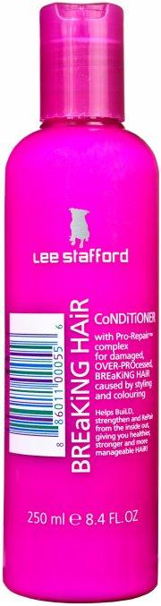 lee stafford breaking hair conditioner 250 ml - Hårpleje