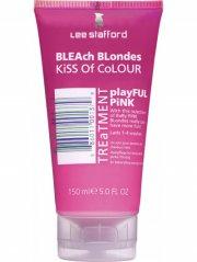 lee stafford kiss of colour playful pink treatment hårfarve 150 ml - Hårpleje