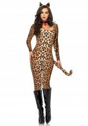 kostume / udklædning leg avenue - leopard dragt - x-small - Udklædning Til Voksne