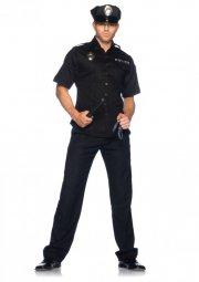 politi kostume / politikostume til voksne - x-large - leg avenue - Udklædning Til Voksne