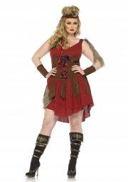 leg avenue plus size kostume - jæger - 3x-4x - Udklædning Til Voksne