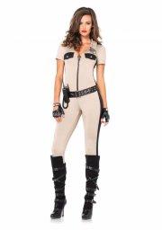 leg avenue - deputy patdown costume - medium (8519202069) - Udklædning Til Voksne