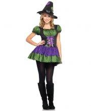 kostume / udklædning leg avenue - junior heksekostume - small-medium - Udklædning Til Voksne