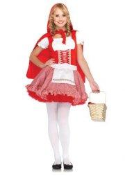 kostume / udklædning leg avenue - junior - den lille rødhætte - small-medium - Udklædning Til Voksne