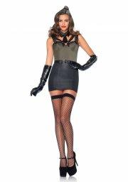 leg avenue - major bombshell kostume - medium  - Udklædning Til Voksne