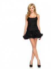 leg avenue - petticoat dress - black - small-medium (8360905001) - Udklædning Til Voksne