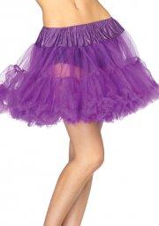 leg avenue - petticoat underskørt - lilla - Udklædning Til Voksne