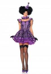 leg avenue - pretty parisian clown - medium-large (8535406039) - Udklædning Til Voksne