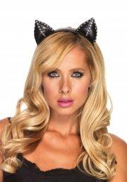 leg avenue - stitch kitty ear headband (a1921) - Udklædning Til Voksne