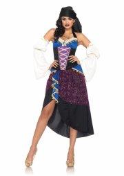 leg avenue - tarot card gypsy costume - small (8394101280) - Udklædning Til Voksne