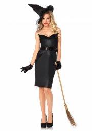 leg avenue - vintage witch - large (85239) - Udklædning Til Voksne