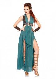 leg avenue - warrior maiden costume - medium (8503602126) - Udklædning Til Voksne