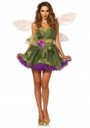 leg avenue - eventyrlig skovfe kjole - large (42-44) - Udklædning Til Voksne