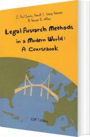 legal research methods in a modern world - bog