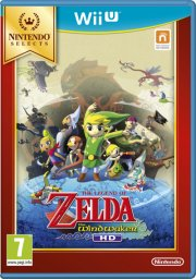 legend of zelda: wind waker hd (selects) - wii u