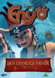 legenden om enyo - vol. 2 - del 6-9 - den usynlige fjende - DVD