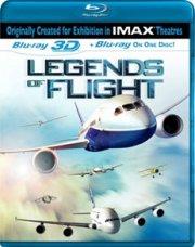 legends of flight  - 3d Imax Blu-Ray