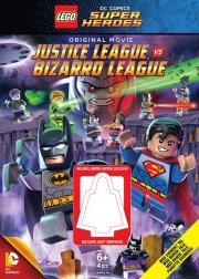 lego batman: justice league vs. bizarro league - inkl figur - DVD