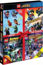 lego: batman the movie // justice league vs. legion of doom // justice league vs. bizarro - DVD