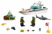 lego city - dykker-yacht - 60221 - Lego