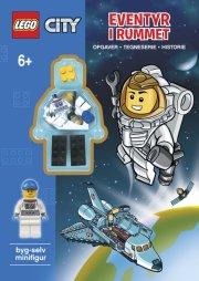 lego city aktivitetsbog med lego-figur - eventyr i rummet - Kreativitet