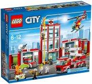 lego city - brandstation legesæt - Lego